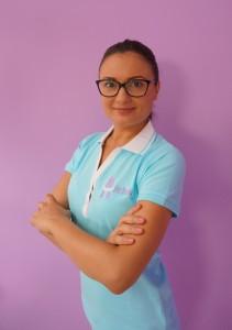Nha khoa Gigienistka Olga đôi khi. Năm 2012 ông tốt nghiệp thành công từ trường gigienistok nha khoa y tế cao hơn. Thành viên của Ủy ban điều hành của Cộng hòa Séc Phòng hygienists nha khoa.